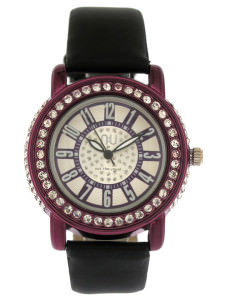 Purple coloured watch - Christopher