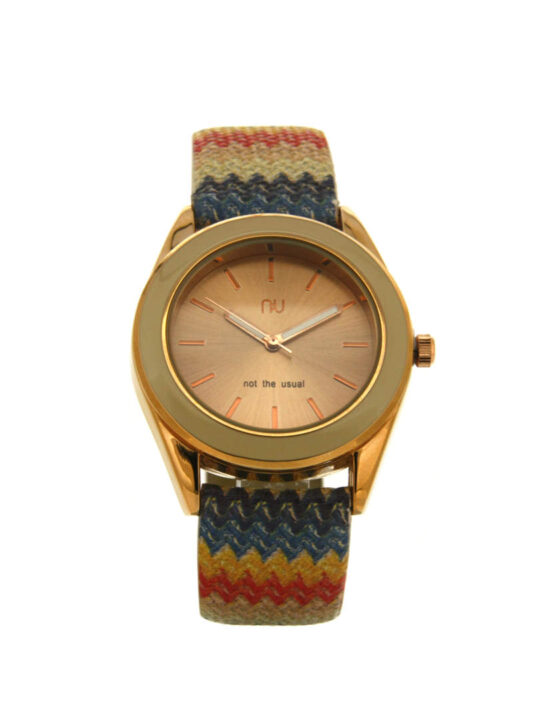 Beige chevron watch - Allerton