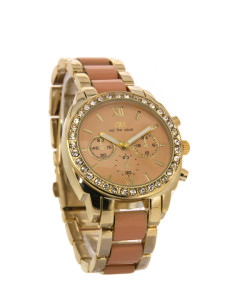Orange coloured sporty watch - Nevins