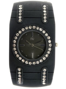 Black cuff watch - van Cortlandt
