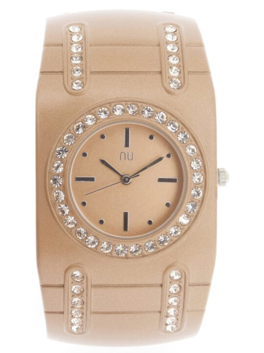 Rose gold cuff watch - van Cortlandt