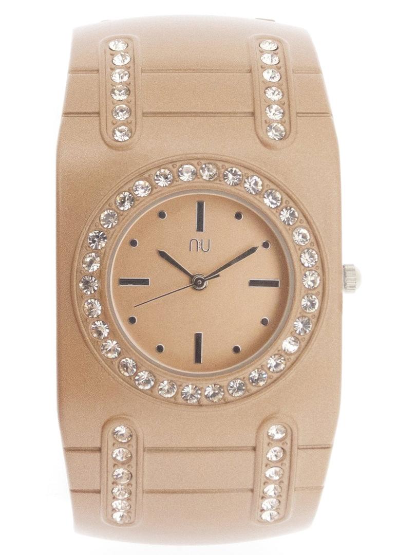Rose gold cuff watch - van Cortlandt
