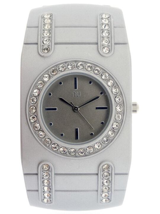 Silver cuff watch - van Cortlandt