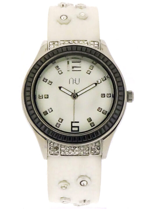 White diamante watch - Whitehall