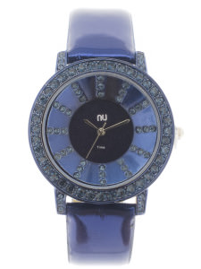 Blue shiny watch - City