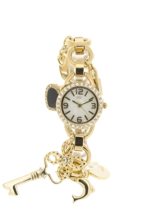 Gold charm watch - Franklin