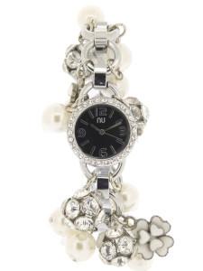 Silver charm bracelet watch - Chambers