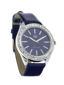 Blue classic ladies watch - Pelham