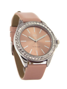 Pink classic ladies watch - Pelham
