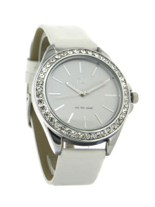 White classic ladies watch - Pelham