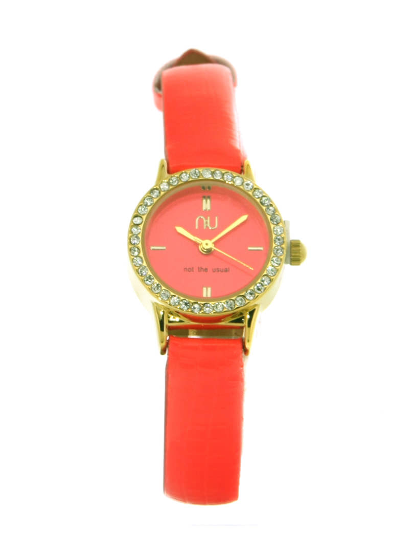 Orange mini watch - Beverley