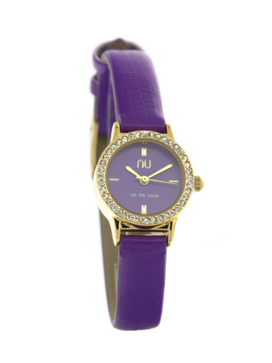 Purple mini watch - Beverley