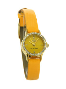 Yellow mini watch - Beverley