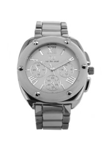 White turtle shell watch - Hoyt