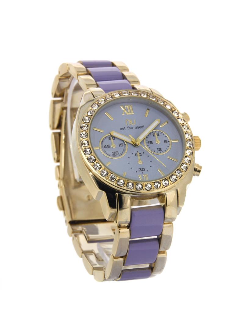 Purple coloured sporty watch - Nevins